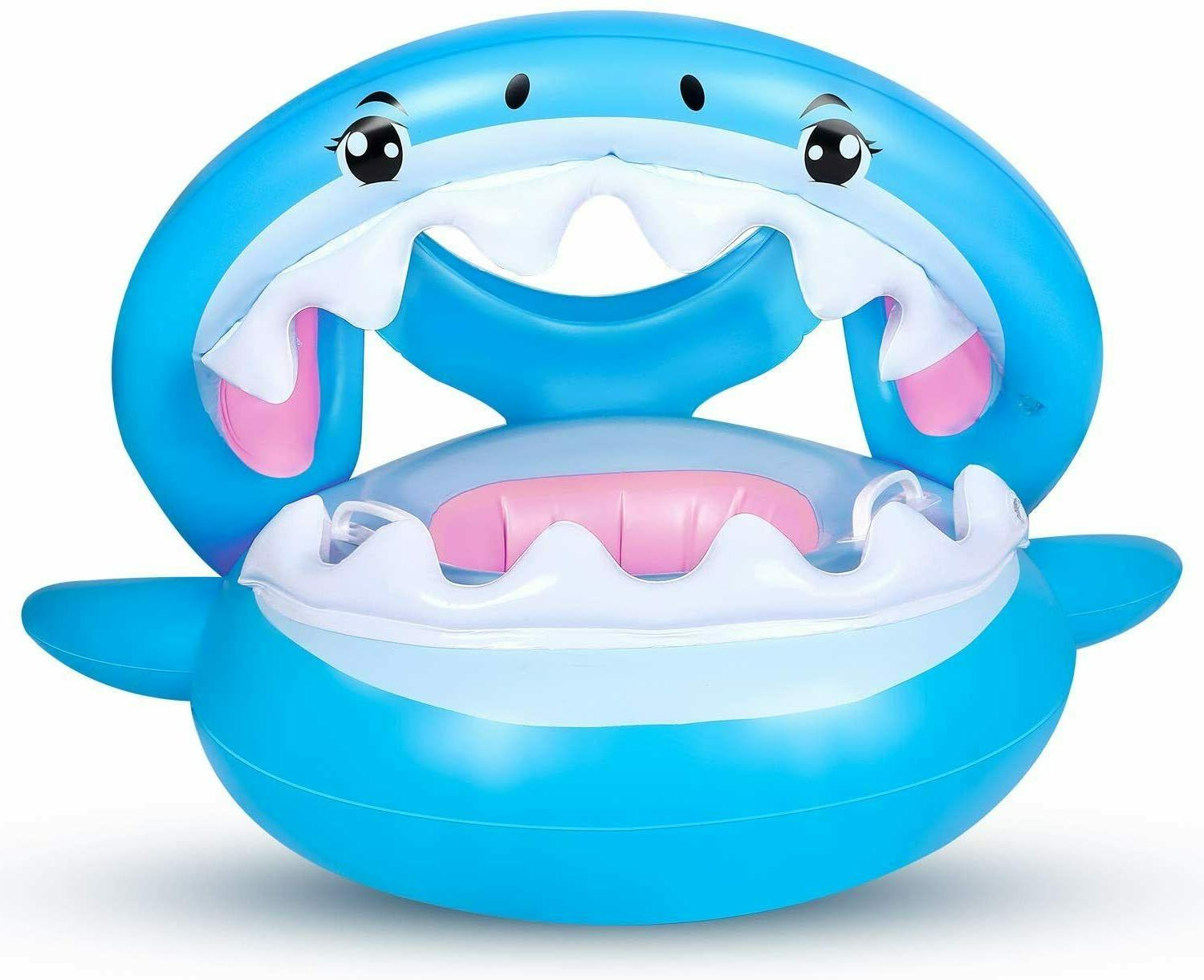 Baby Float Swimming Pool Toddler Floaties with Inflatable Ca
