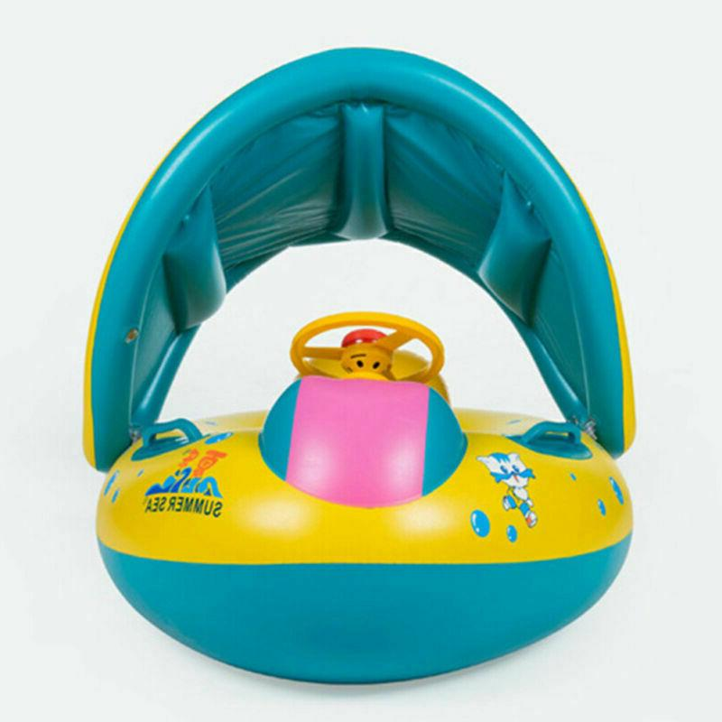 Inflatable Toddler Baby Ring Swimming