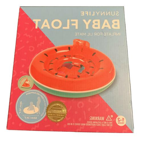 baby float watermelon inflatable for lil mate
