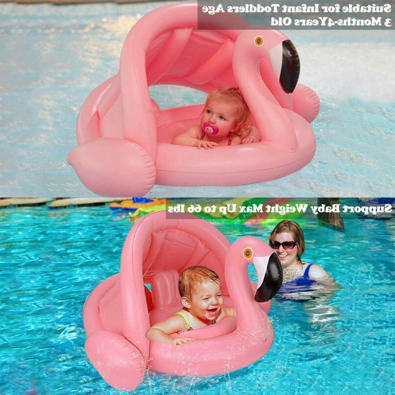 Baby Pool Inflatable for Kids To Months Canopy