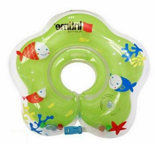 baby infant inflatable swimming float neck ring
