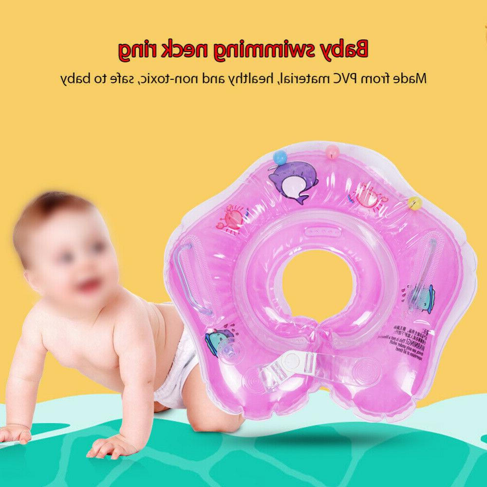 baby infant neck ring bath swimming pool