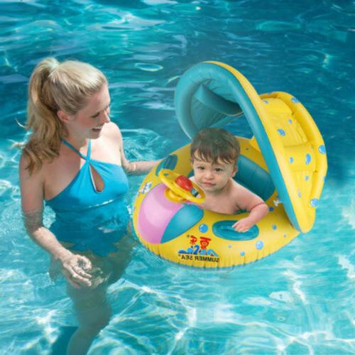 Baby Seat Boat Ring Swim Inflatable Ring