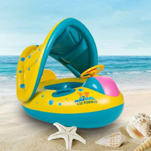 Baby Float Boat Ring Inflatable