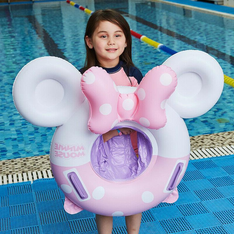 Baby inflatable Mickey Mouse float Kids Swim Seat