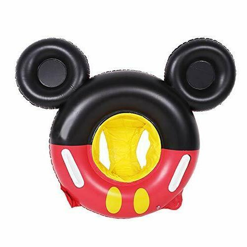Baby inflatable Mickey Mouse float Toddler Kids Swim Seat