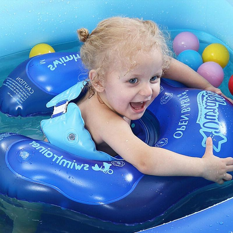 Swimming Ring Inflatable Baby Float Double-Layer Inflatable