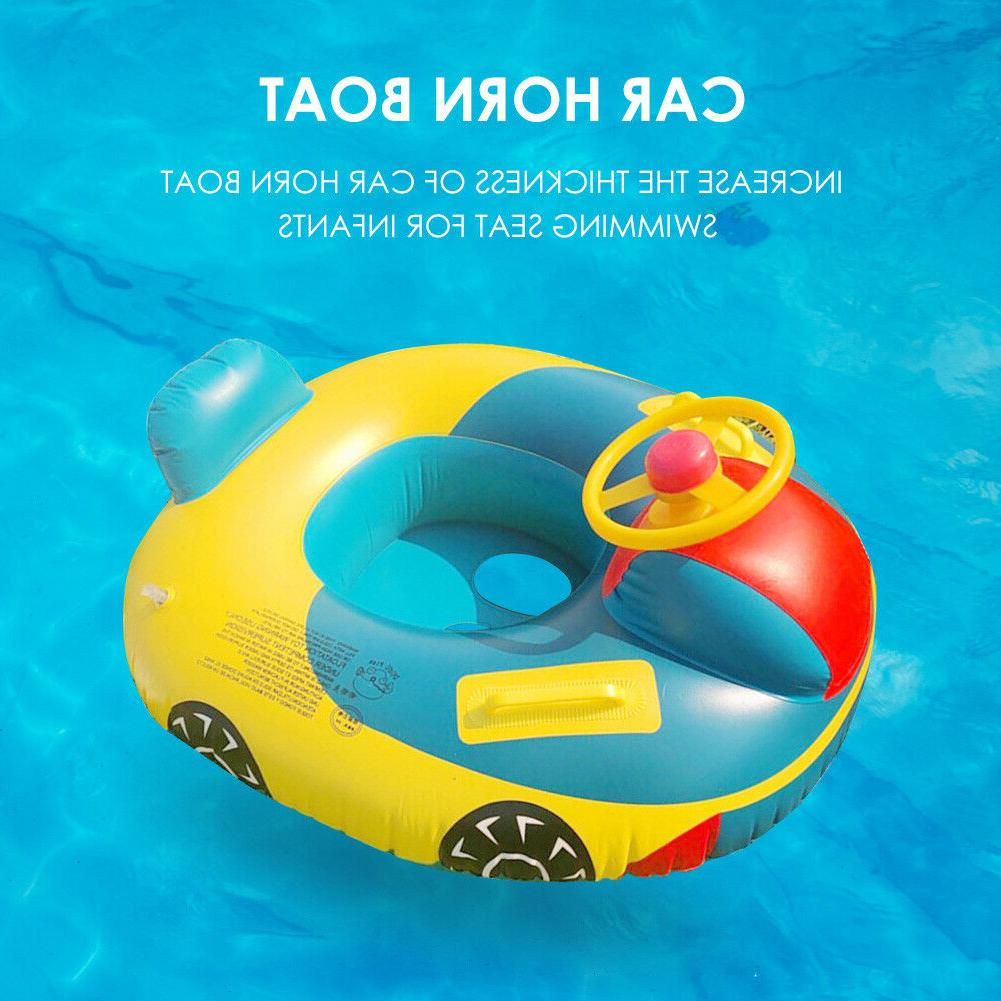 Baby Inflatable Swimming Seat Floating Boat Water Toy Lot