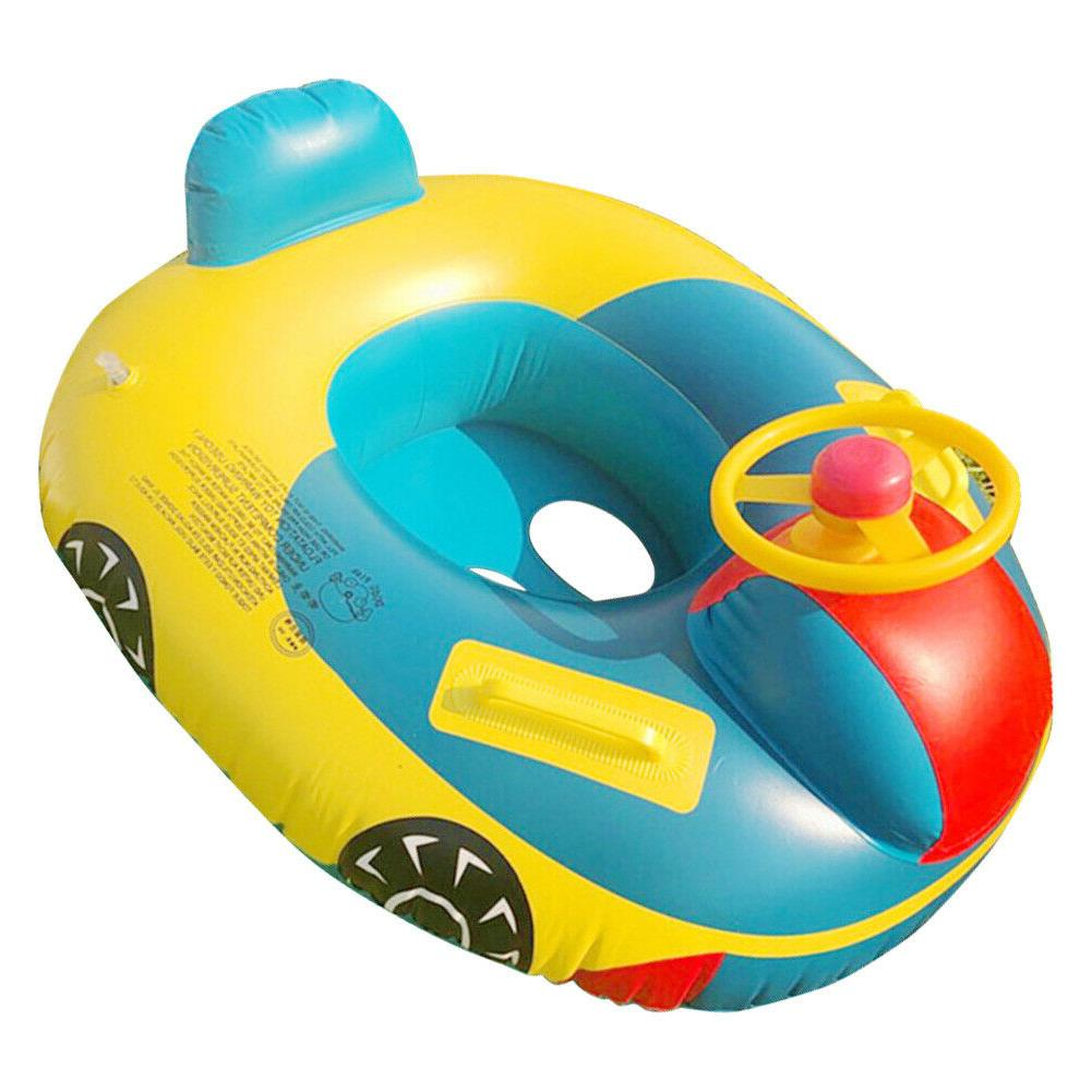 Baby Inflatable Seat Floating Airplane Boat Kids Water Lot