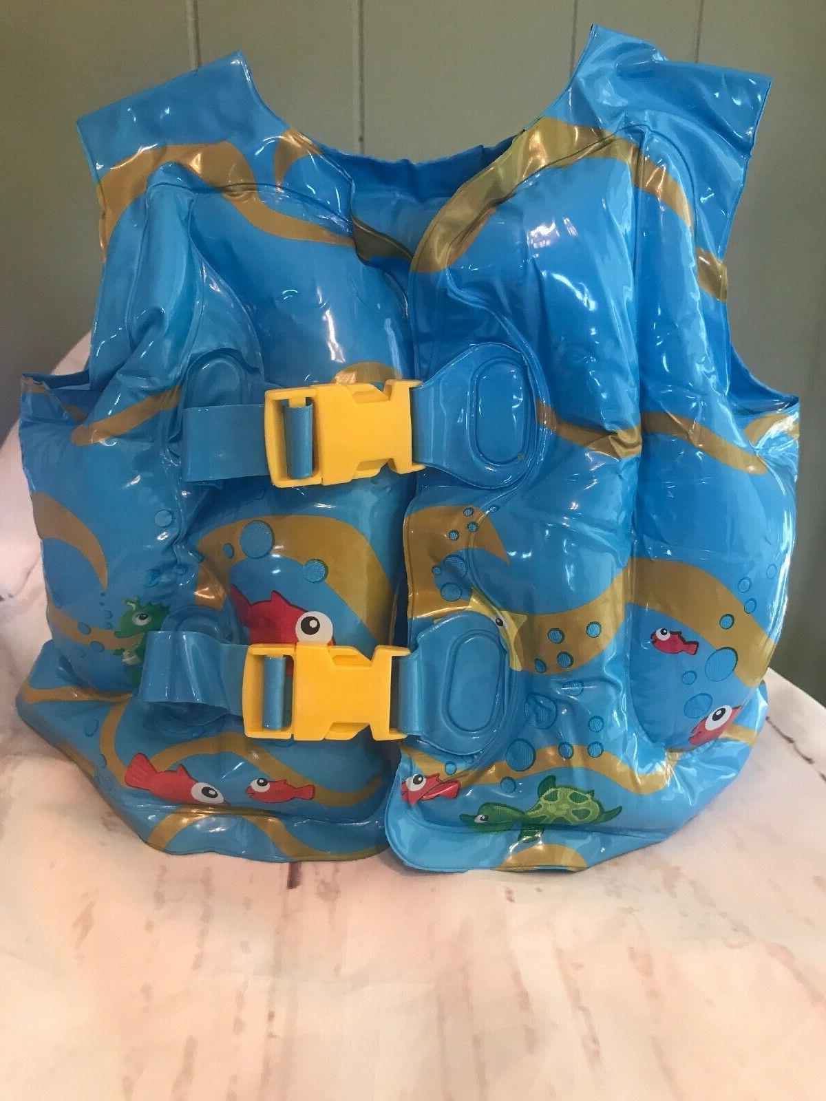 Baby Kids Children Inflatable Beach Swimming Pool Safety Lif
