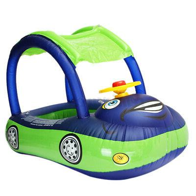 Baby Kids Seat Boat Swimming Sunshade