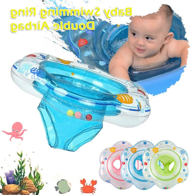 Baby Kid Swim Ring Seat Inflatable Toddler Float Swimming Po