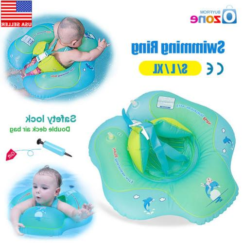 baby kids inflatable float swimming ring swim