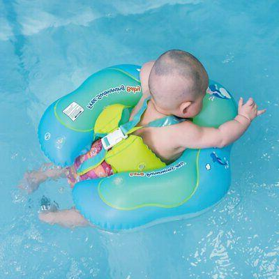 Free Swimming Baby Inflatable Float Ring Children Waist Pool
