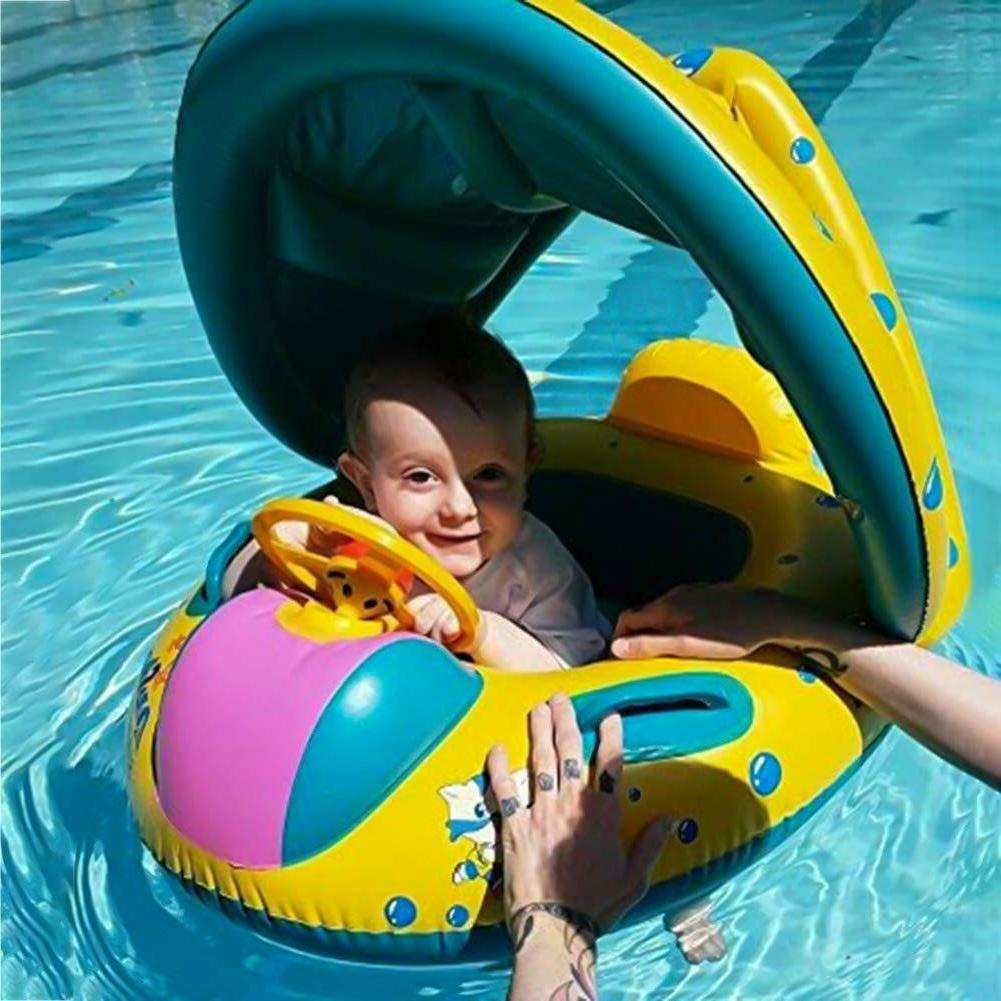 Baby Pool With Floaties For Kids Toddler New