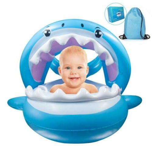 baby pool float swimming floats inflatable shark