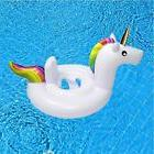 Baby Pool Float, Unicorn Inflatable Rafts Swim Ring Swimming