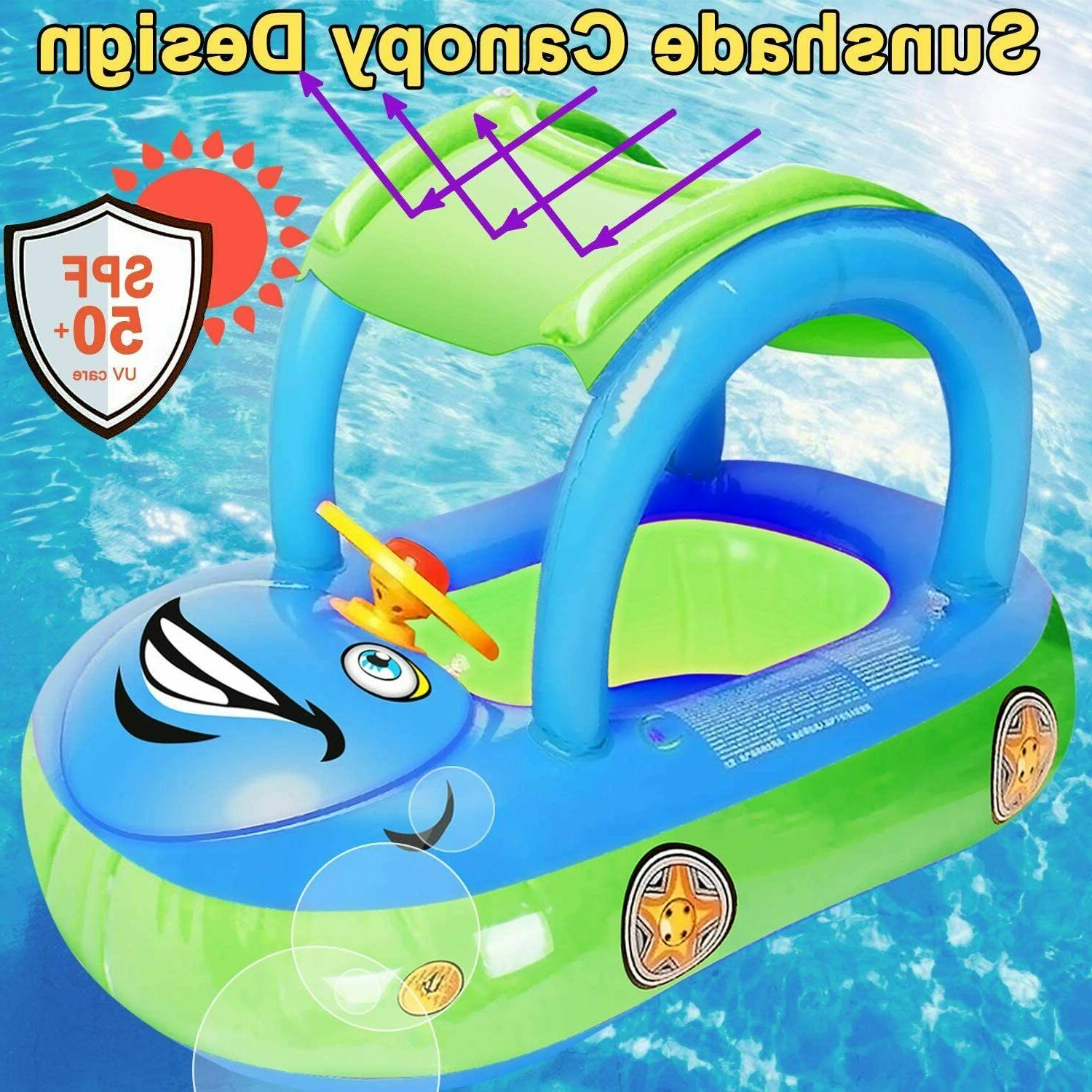 Baby Pool Float Swim Boat with