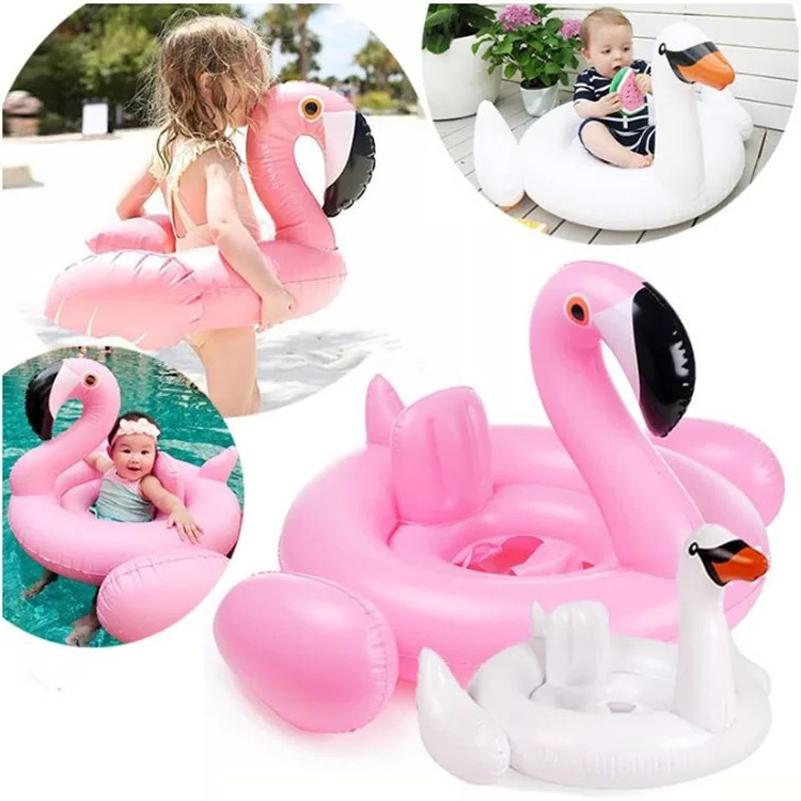Baby Float Canopy,Flamingo Ring,PINK