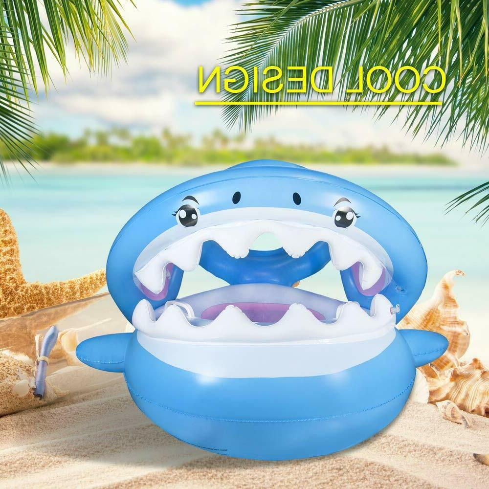 Baby Canopy,Inflatable Swimming Floaties for Infant