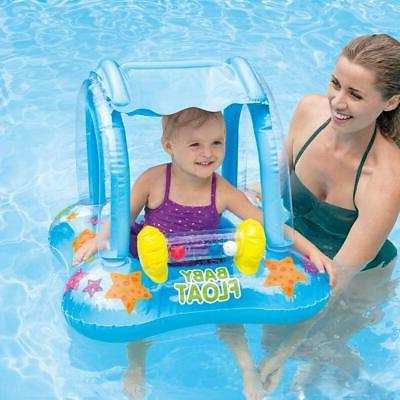baby pool floats with canopy inflatable floaties