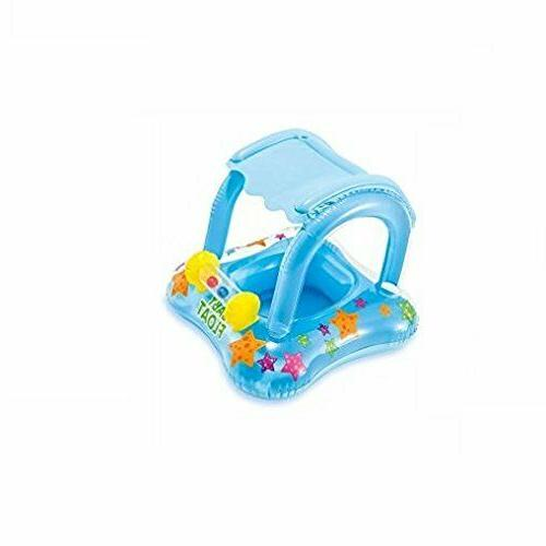Baby Pool Canopy Inflatable Floaties For Toddler Babies
