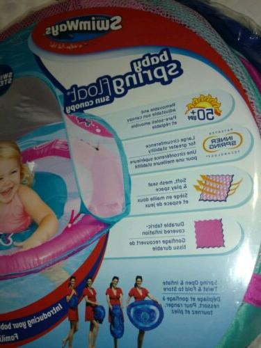 Baby Pool Spring Float Activity Center Raft Sun Canopy girls