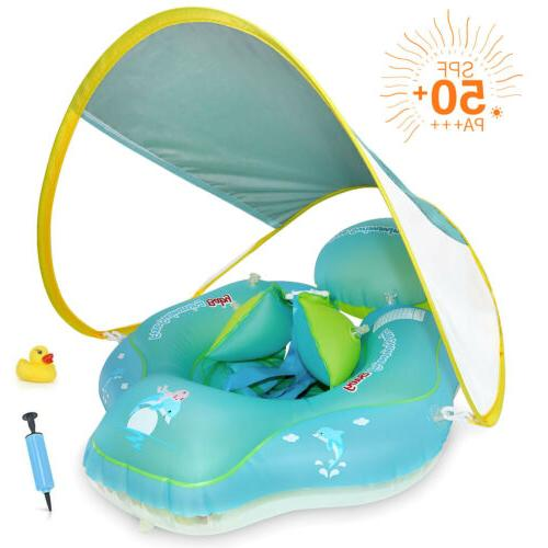 baby safety swimming ring float inflatable pool