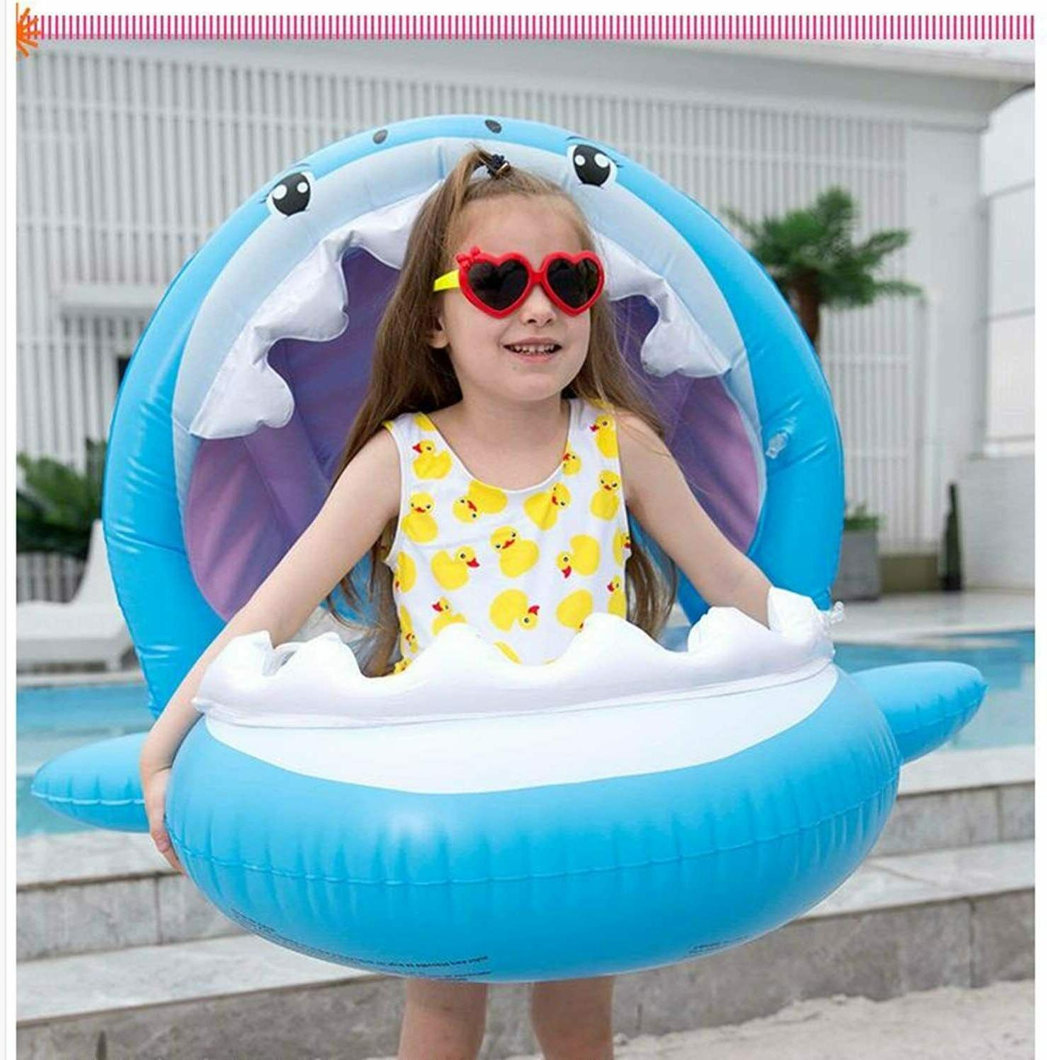 Baby Shark Pool Swimming Seat With
