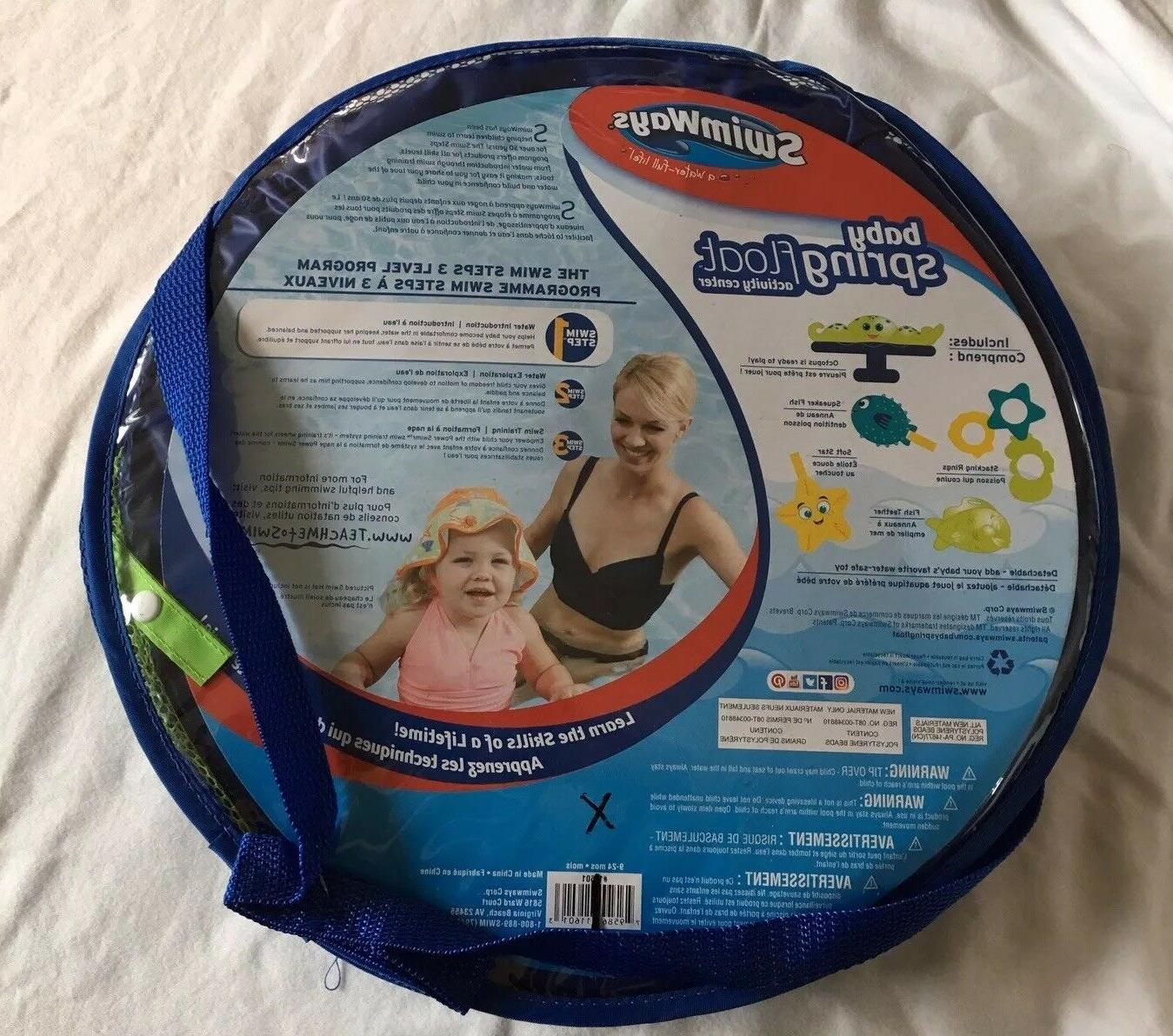 SwimWays Baby Spring Float Activity Center Canopy, Octopus Top Quality New Gift
