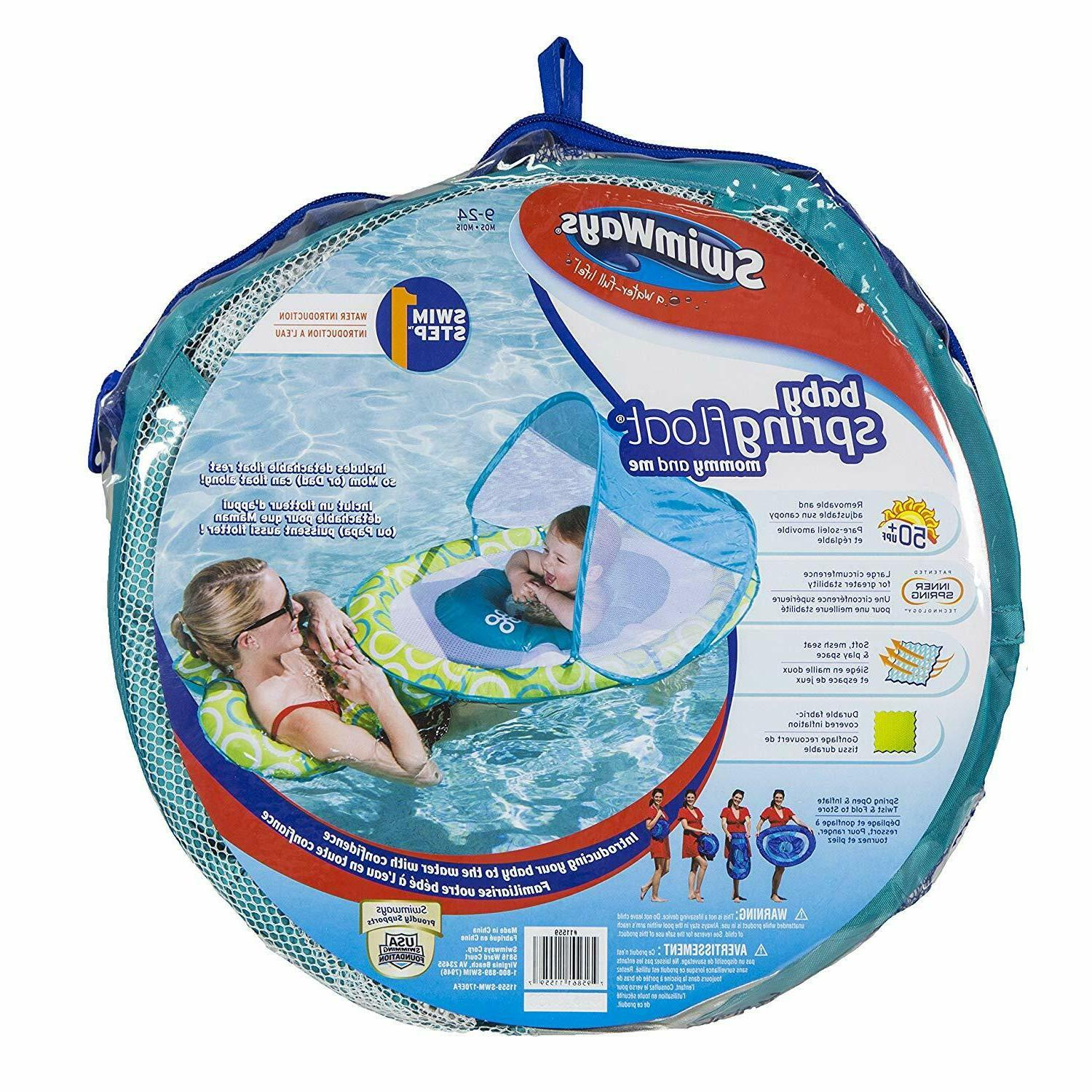 SwimWays Spring Float Mommy Me STEP with