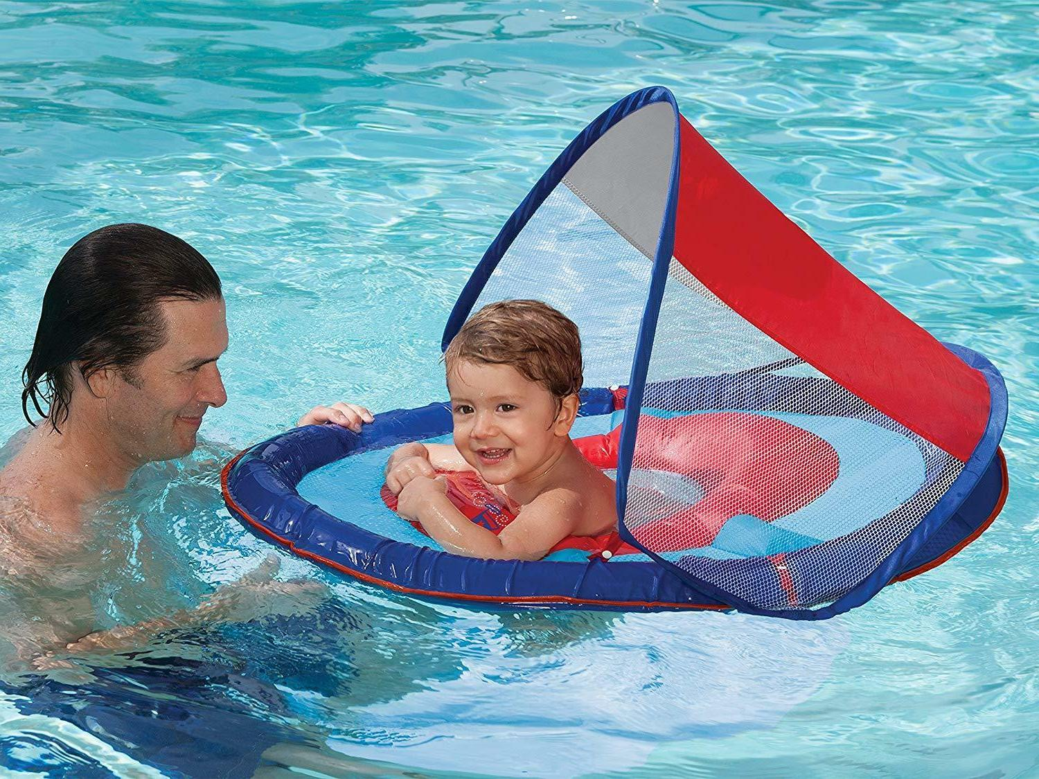 Swimways Baby Sun Ages 9-24 M Blue/Red