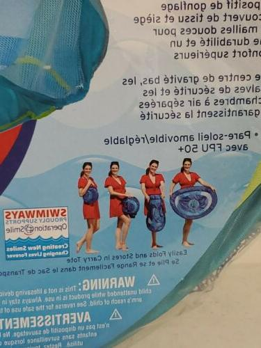 SwimWays Float with Sun Canopy 50+UPF Infant 9 24 months