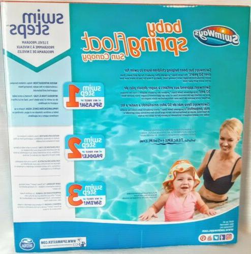 SwimWays Baby Float With Months Brand