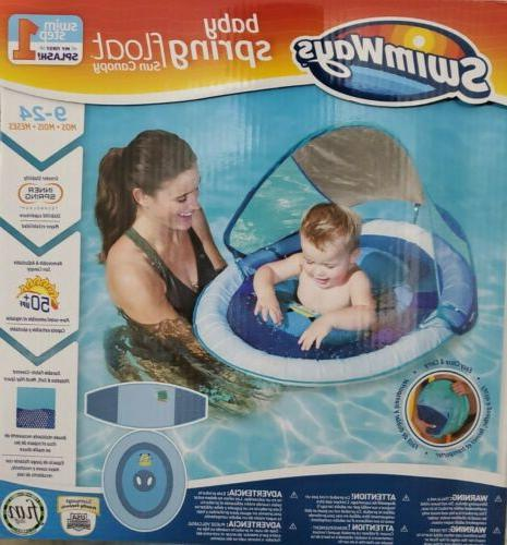 baby spring float with sun canopy 9