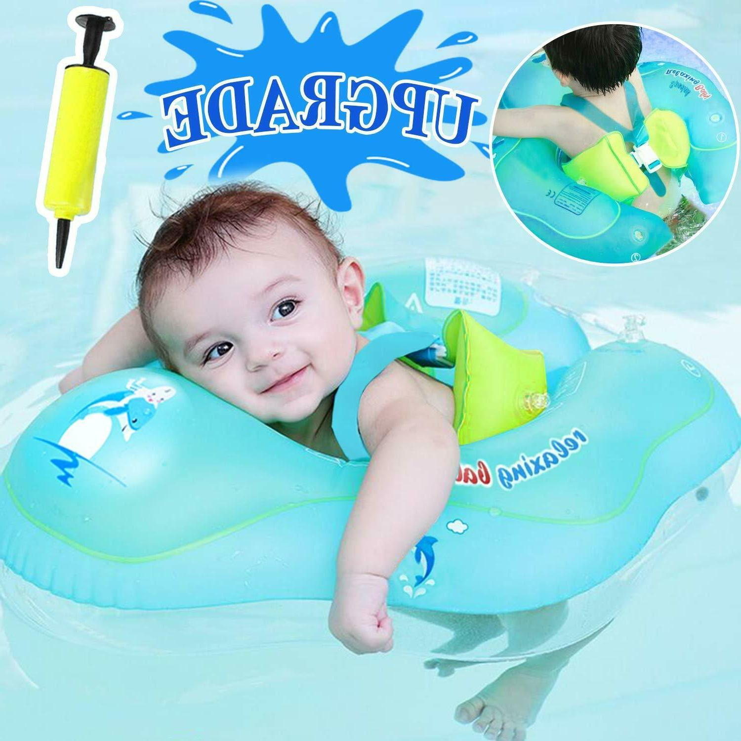 Baby Swimming Float Ring - Baby Spring Floats Swim Trainer N