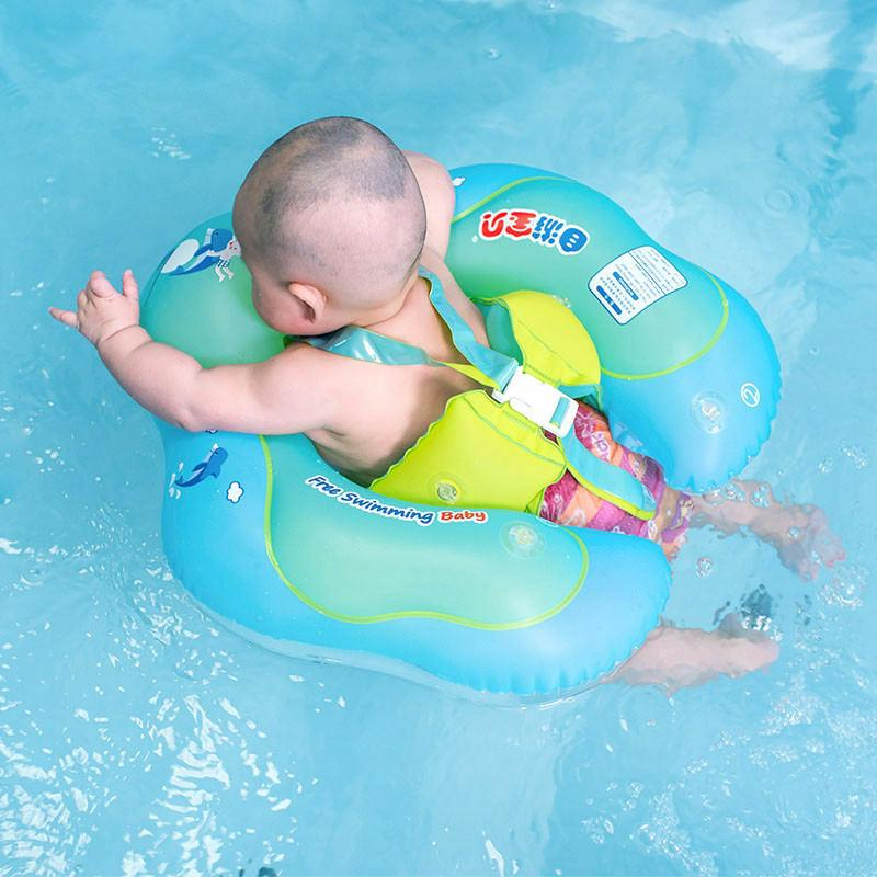 baby swimming neck ring float kid inflatable