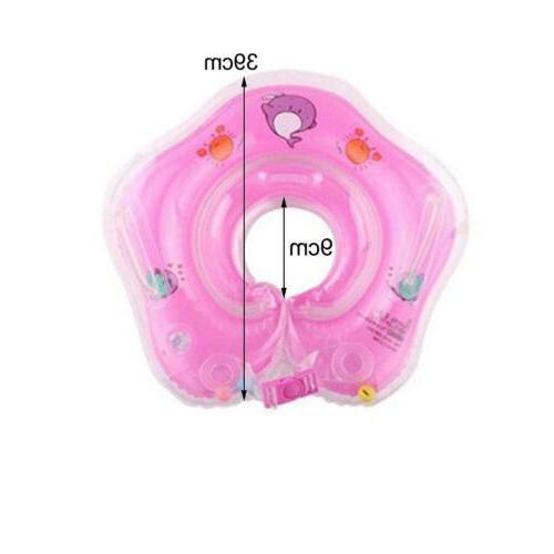 Baby Swimming Neck Floating Inflatable Circle Bathing Toy