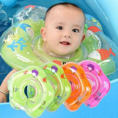 baby swimming pool bath neck floating inflatable
