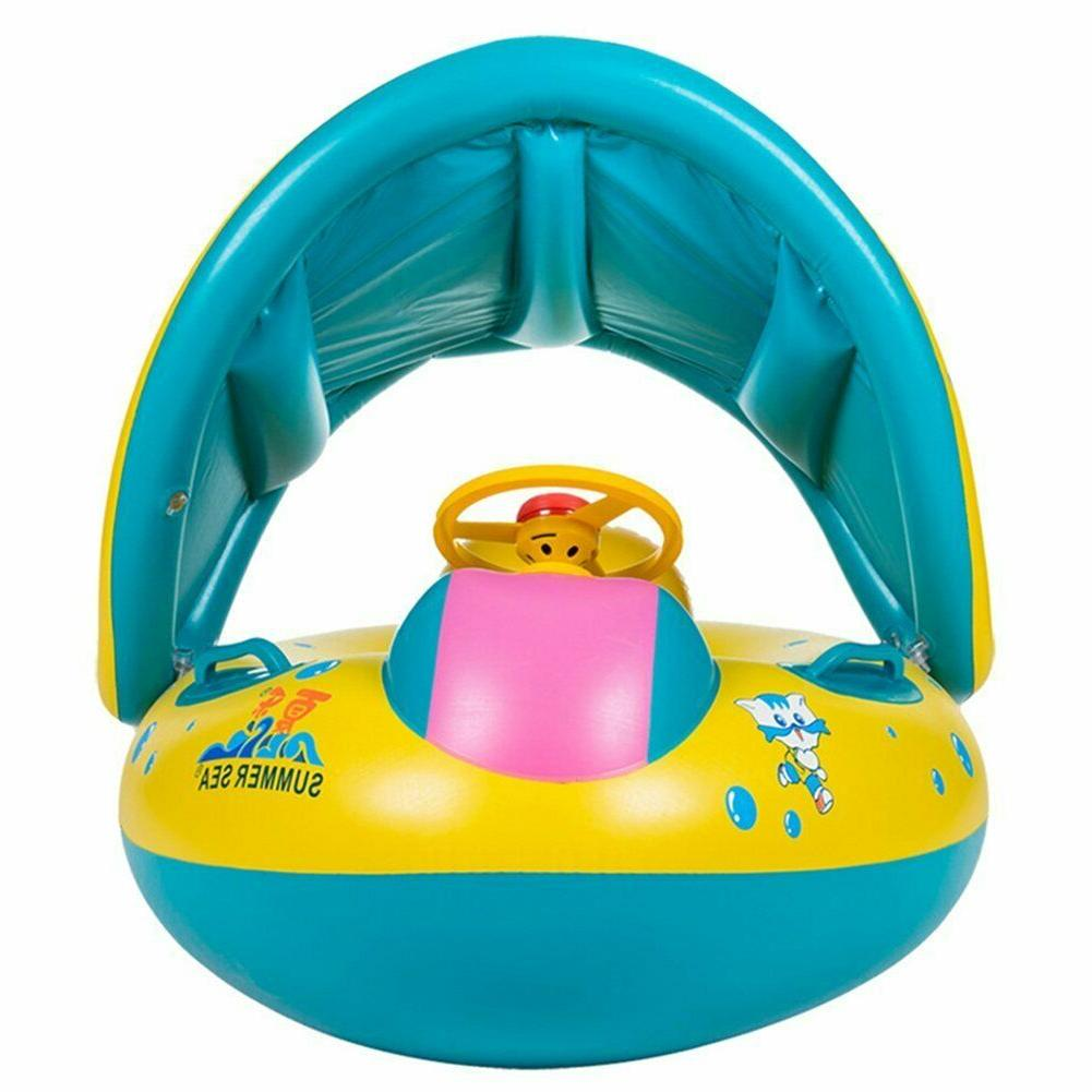 Baby Swimming Boat Sunshade Canopy for Kids Mon