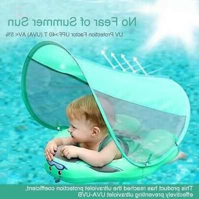 US Ring Non-inflatable Float Pool Floats Sunshade