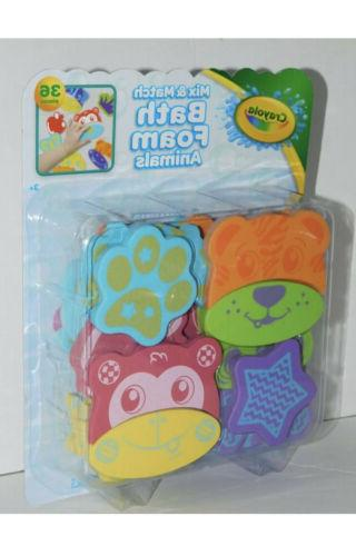Crayola Bath Pieces Foam & Cling Tub Wall