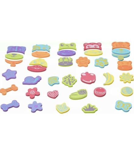 bath toys 36 pieces foam animals mix