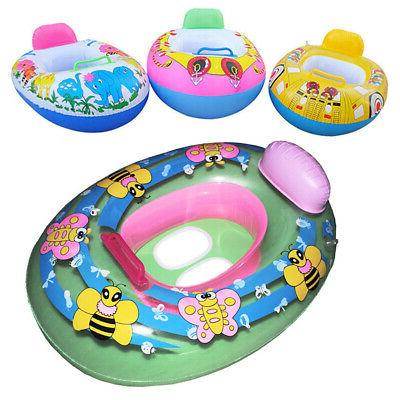 Baby Swim Inflatable Toddler Ring Pool Kids Boat US