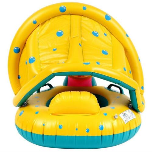 CASA MALL Swimming Pool Float Canopy Seat US