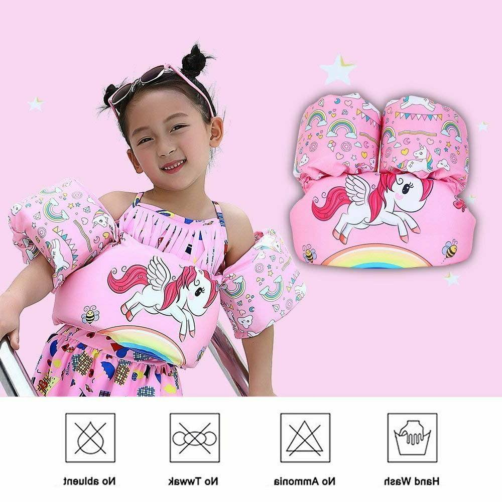 Baby Kid Floats for Pool Unicorn Life Jacket Swimming Adjust