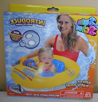 deluxe baby swimming pool boat float raft