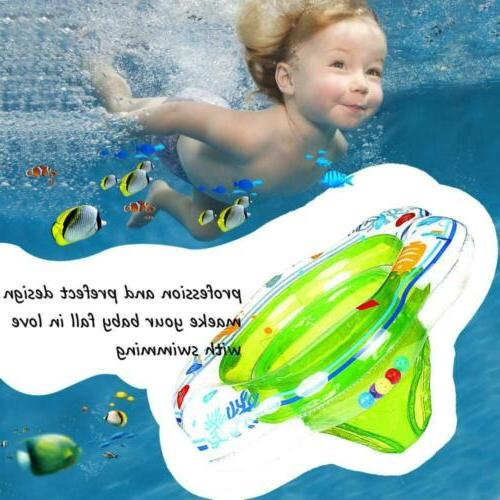 Double PVC Inflatable Seat Swimming Ring Green