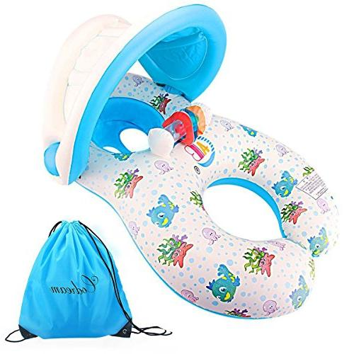 dual person mommy inflatable pool