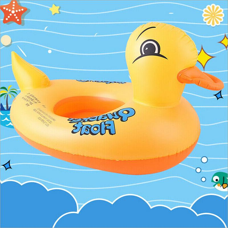 duck float kids inflatable baby toddler swimming